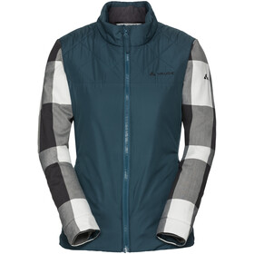 VAUDE Cyclist II Padded Jacket Women, dark petrol